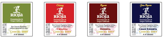Rioja Wine Labels